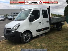 OPEL chassis double cabine benne