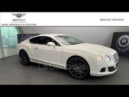 BENTLEY CONTINENTAL GT GT COUPE W12 SPEED