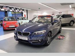 BMW SERIE 2 F23 CABRIOLET (F23) CABRIOLET 218D 150 LUXURY BVA8