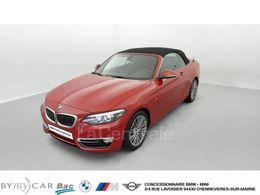 Photo d(une) BMW  (F23) CABRIOLET 218I 136 LUXURY BVA8 d'occasion sur Lacentrale.fr
