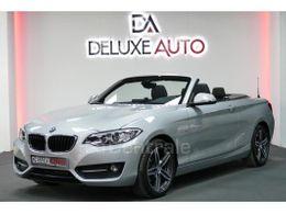 Photo d(une) BMW  (F23) CABRIOLET 218I 136 SPORT d'occasion sur Lacentrale.fr