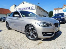 BMW SERIE 2 F22 COUPE (f22) coupe 218d sport bva8