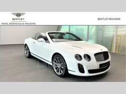 BENTLEY CONTINENTAL GTC gtc cabriolet supersports isr